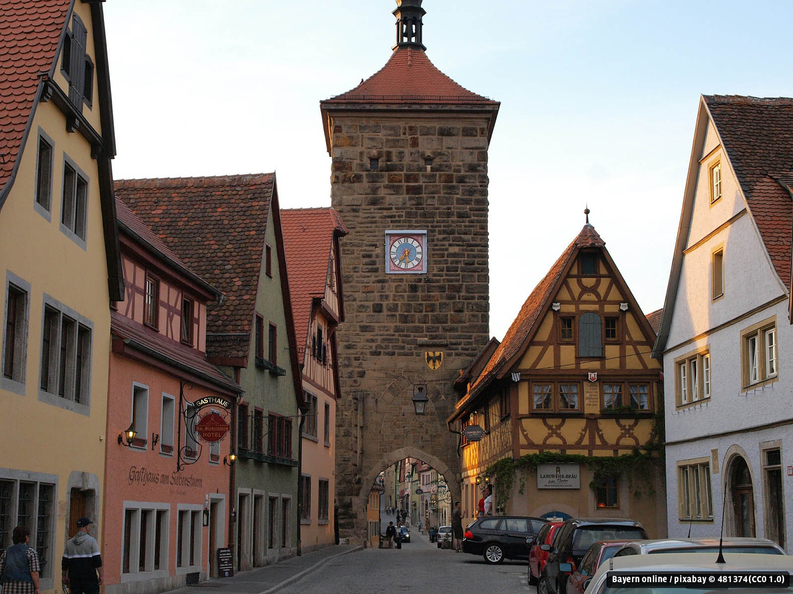 Rothenburg Monkey Island